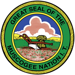 Muscogee tribal seal
