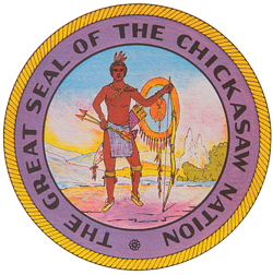 Chickasaw tribal seal