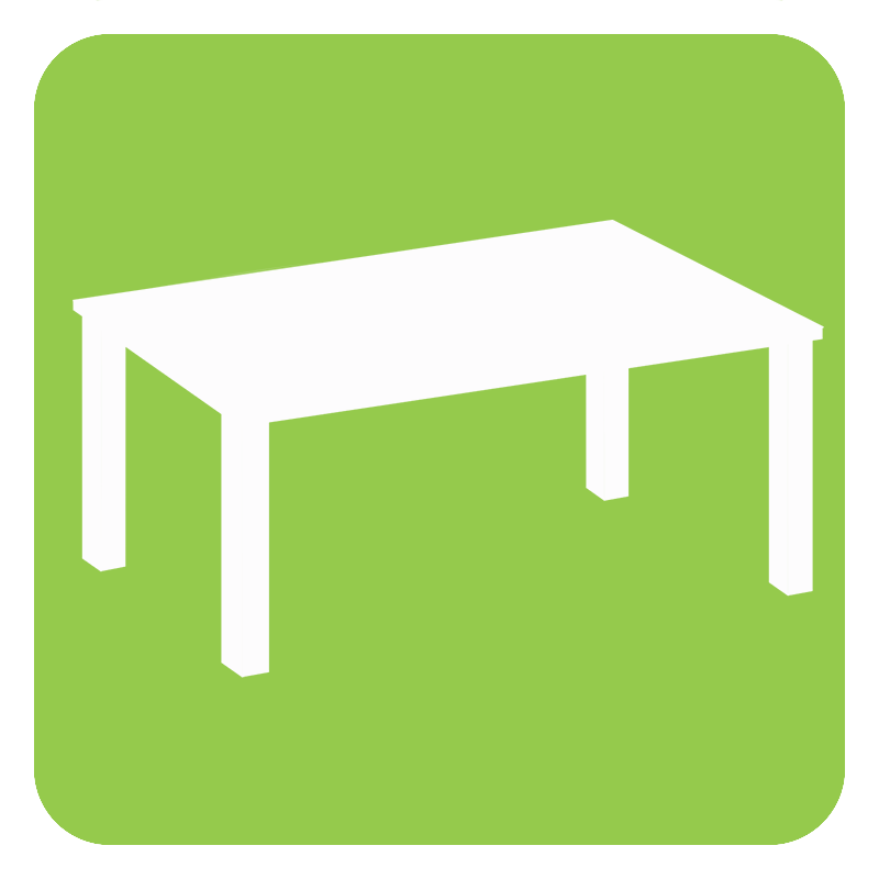 graphic of a table