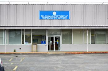 Front view of the Muskogee DRS office