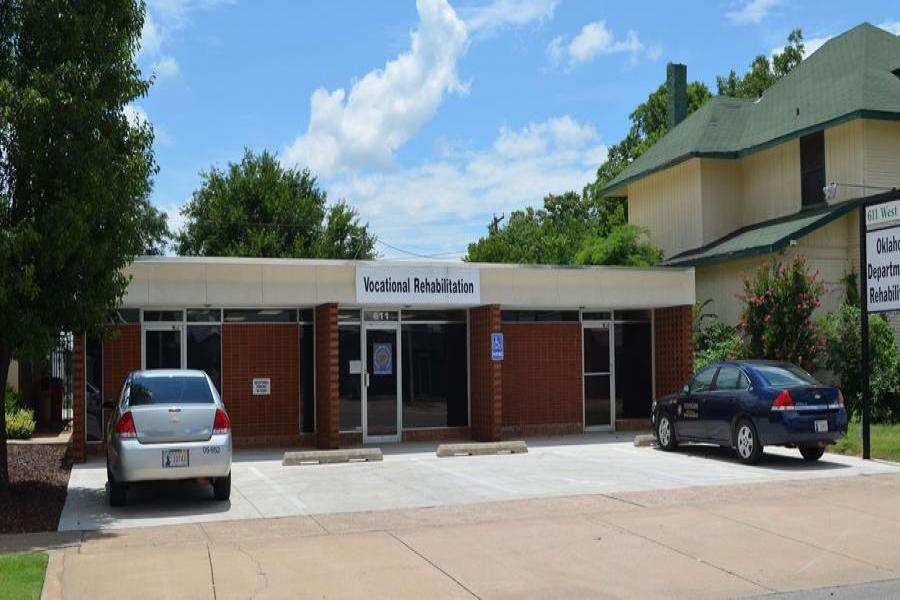 Front view of Enid office