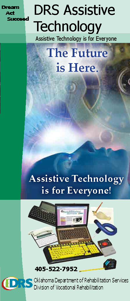 DRS Assistive Technology Brochure cover