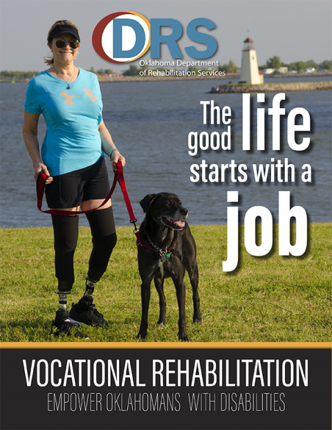 Cover of Vocational Rehabilitation brochure
