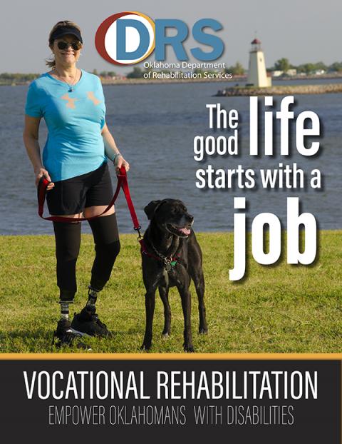 Cover of Vocational Rehabilitation brochure