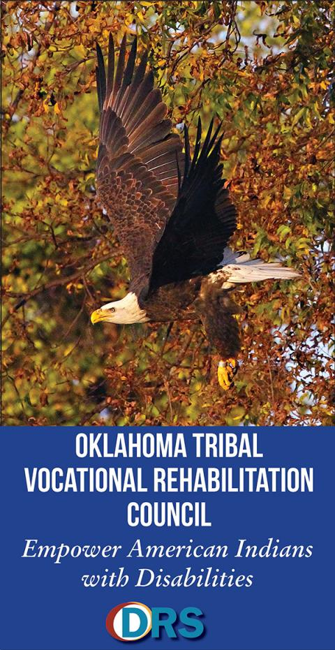 Cover of Tribal Vocational Rehabilitation brochure
