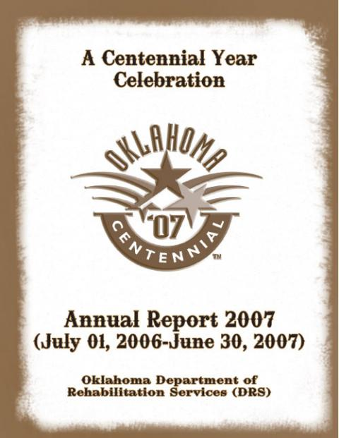 Cover of the 2007 Annual Report