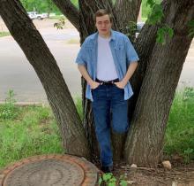 Allen's senior pic