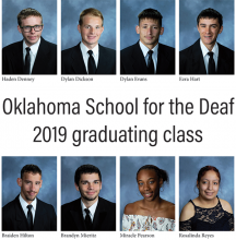 Eight photos of OSD graduating seniors