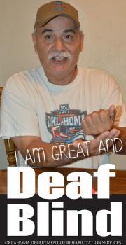 Cover of the Deaf Blind brochure