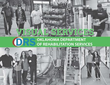 Cover of the Visual Services Brochure