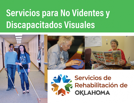 Cover of 20-06 Services for the Blind and Visually Impaired- Spanish.