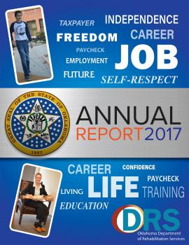 Front cover of 2017 Annual Report